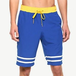 NWT Disney Donald Duck Cosplay Swim Trunks